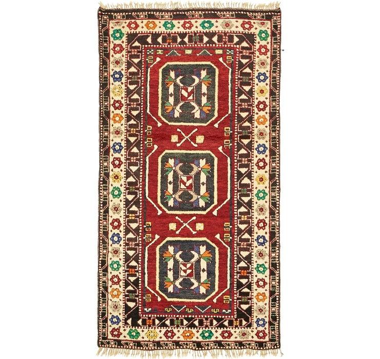 3' 3 x 6' 3 Kars Oriental Rug