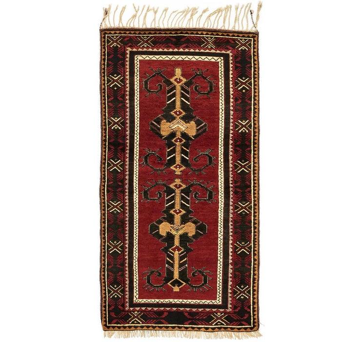 3' 4 x 6' 8 Kars Oriental Rug