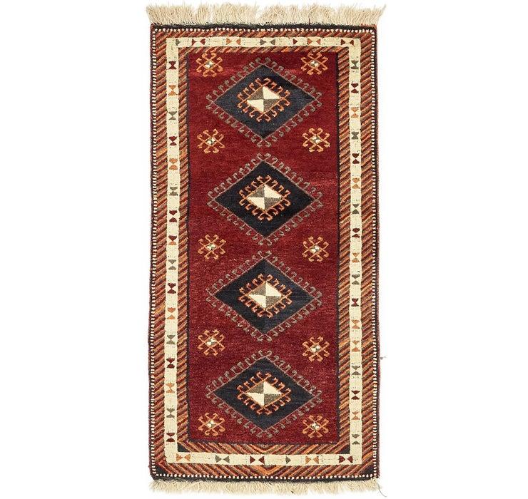 102cm x 205cm Kars Oriental Rug