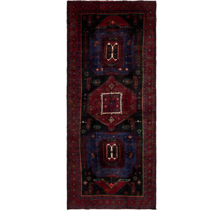 4' 10 x 11' Sirjan Persian Runner Rug