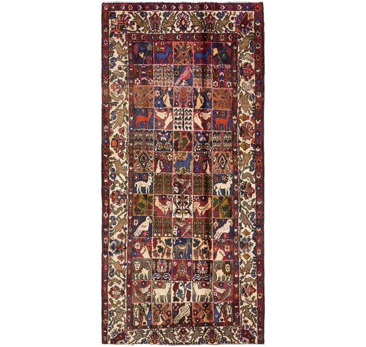 157cm x 330cm Bakhtiar Persian Rug