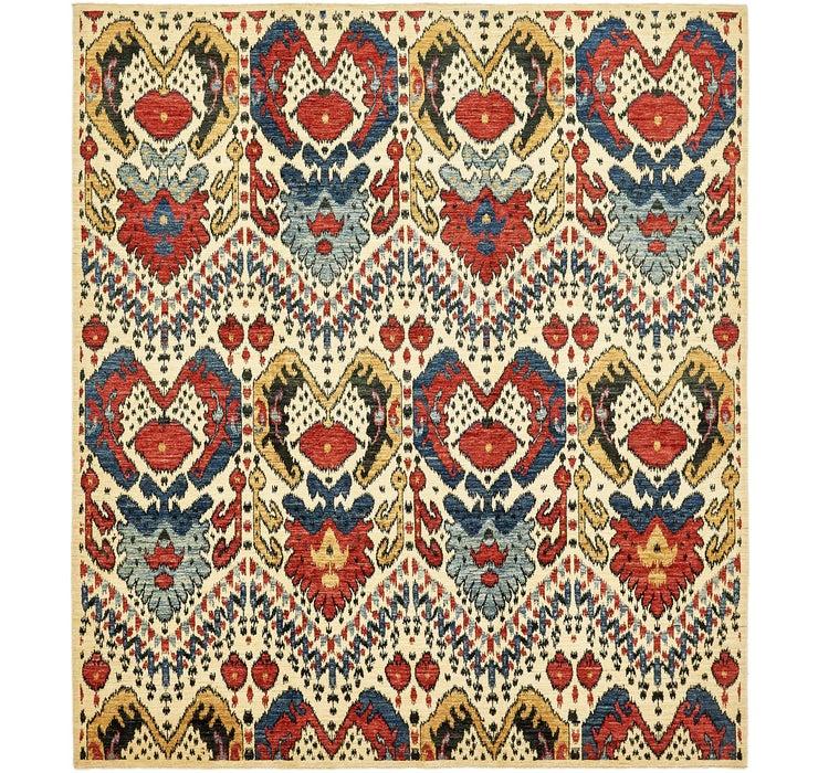 8' 4 x 9' 6 Ikat Oriental Rug