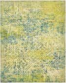 8' x 9' 9 Over-Dyed Ziegler Oriental Rug thumbnail