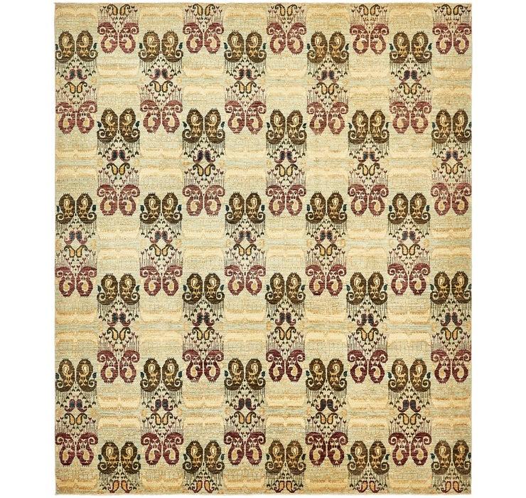 8' 4 x 9' 9 Ikat Oriental Rug