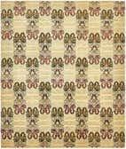 8' 4 x 9' 9 Ikat Oriental Rug thumbnail