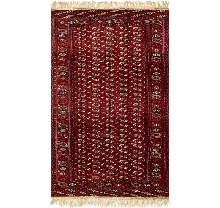 240cm x 365cm Torkaman Oriental Rug