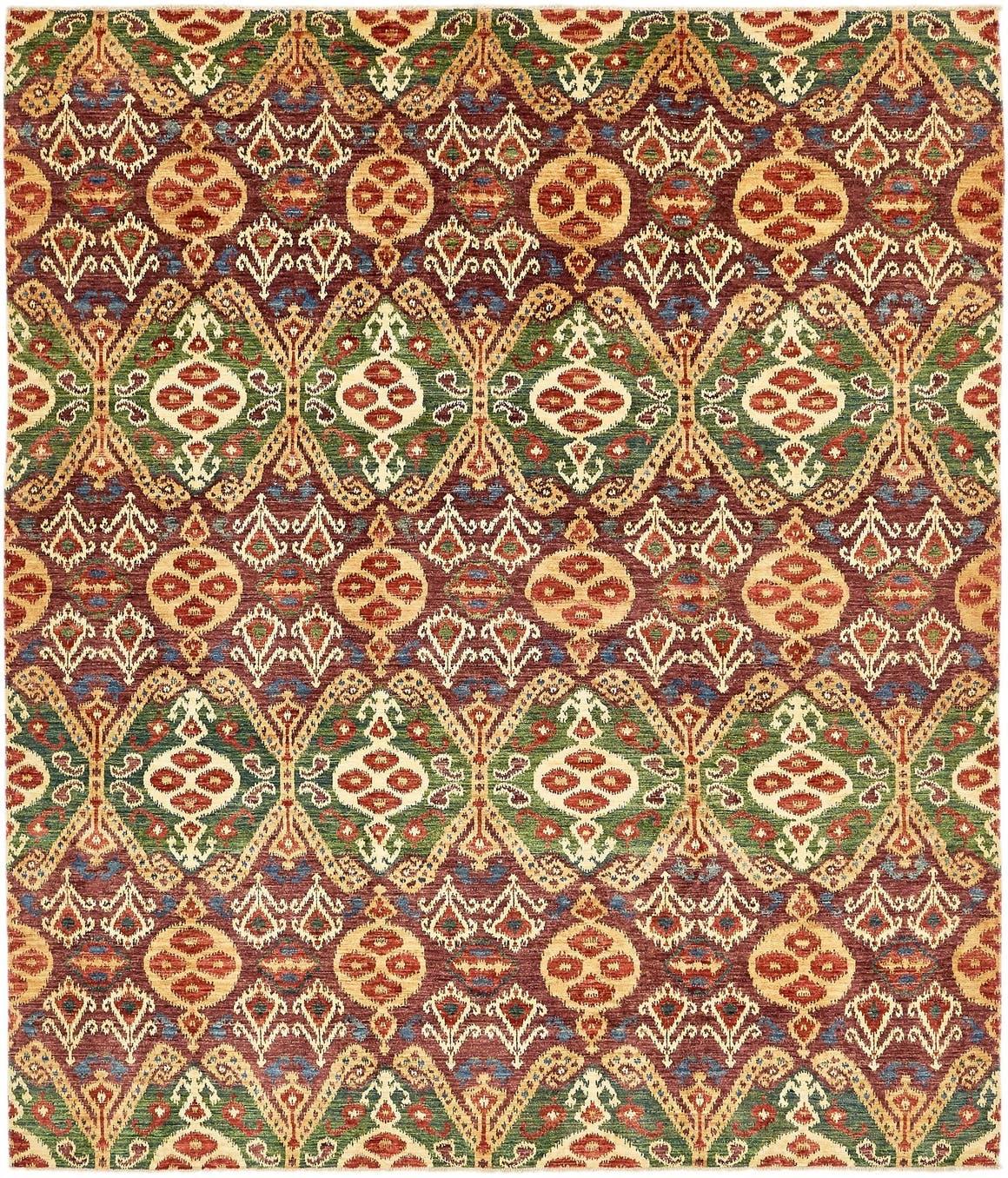 8' 3 x 9' 8 Ikat Oriental Rug main image