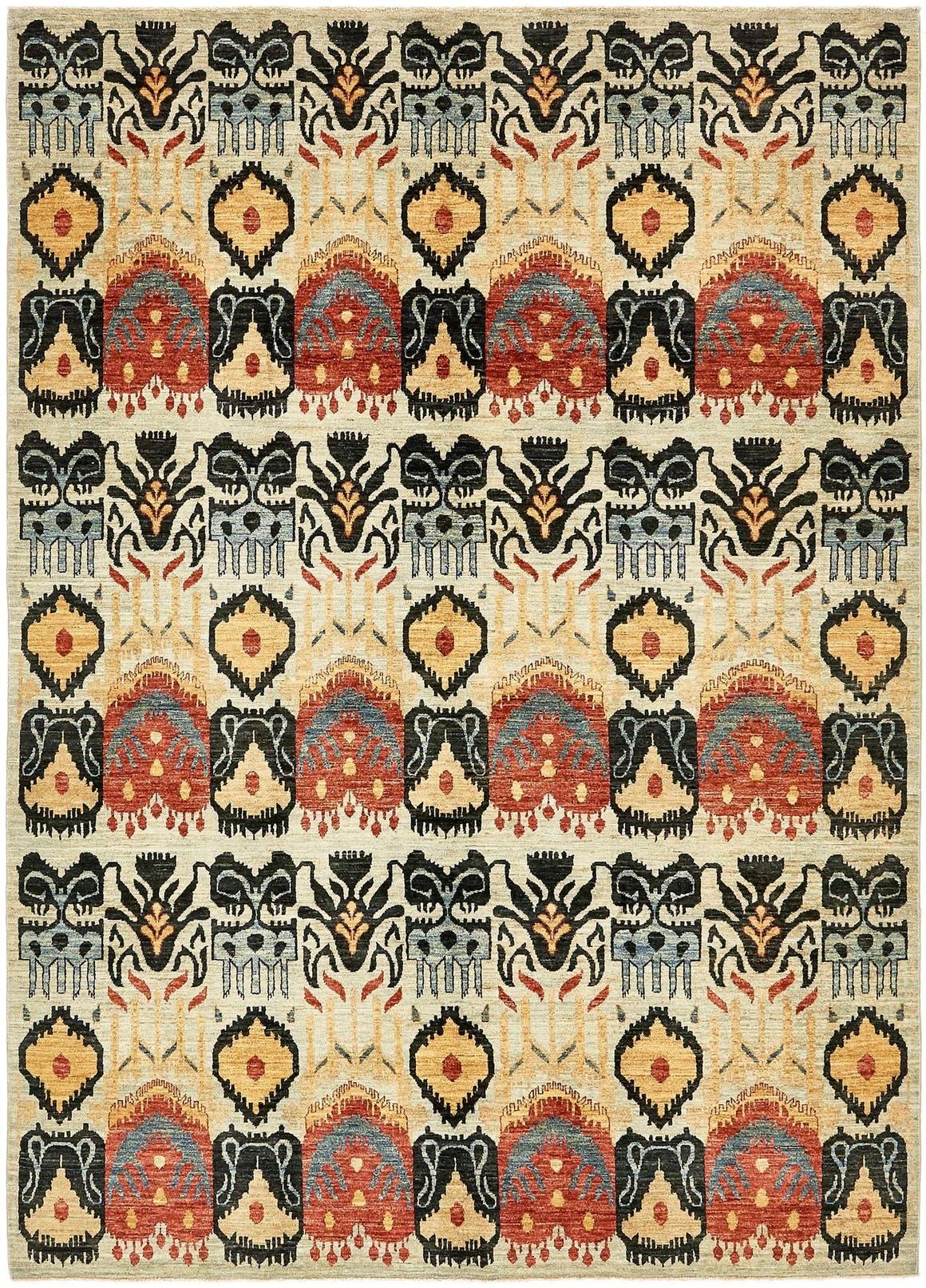 6' 10 x 9' 10 Ikat Oriental Rug main image