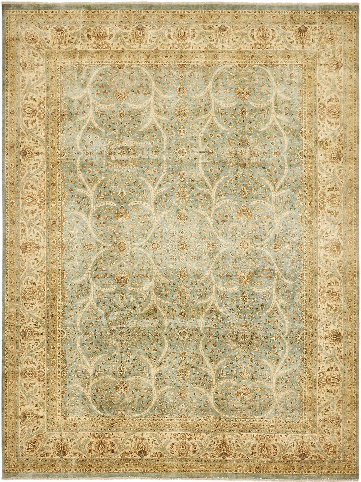 9' 2 x 12' Tabriz Hadji Jalili Oriental Rug main image