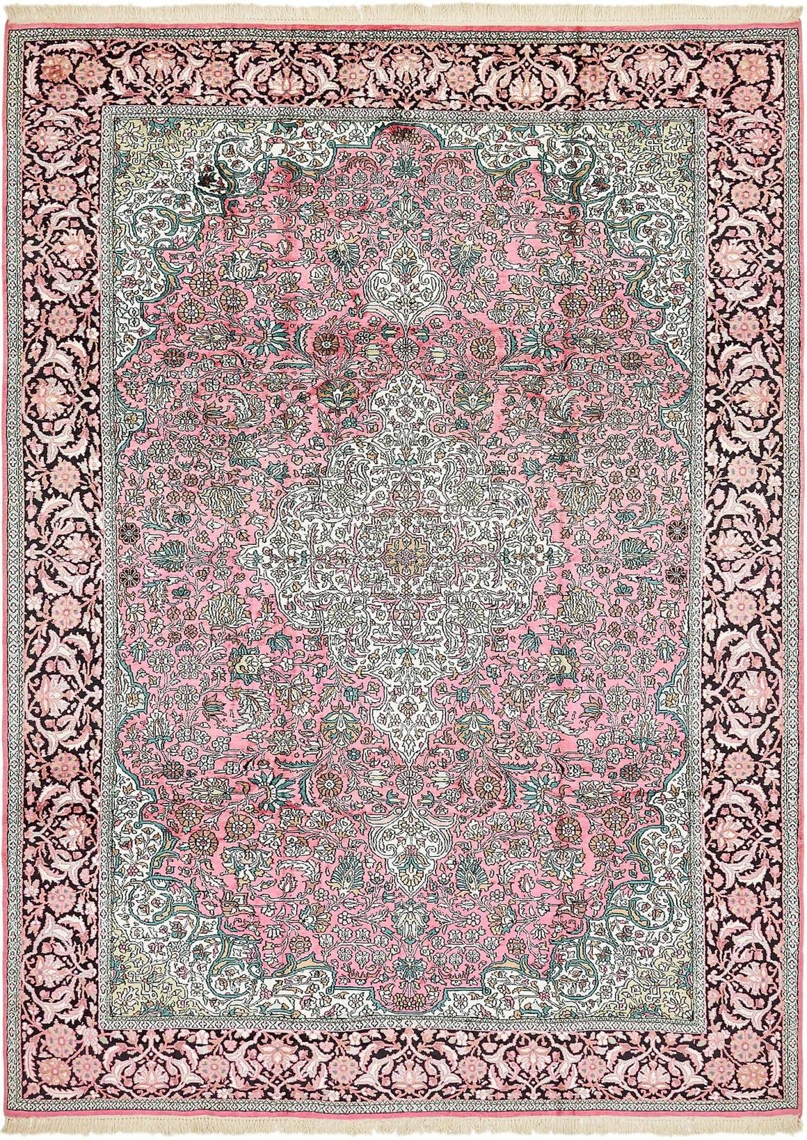 7' 9 x 11' Kashmir Oriental Rug main image