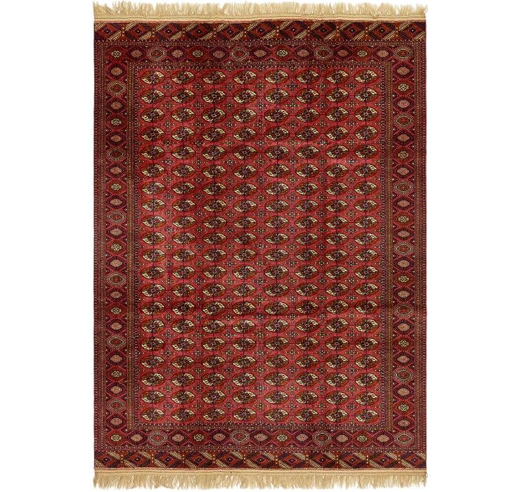 8' x 11' Torkaman Oriental Rug
