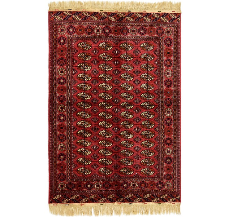 5' 3 x 7' 10 Torkaman Oriental Rug