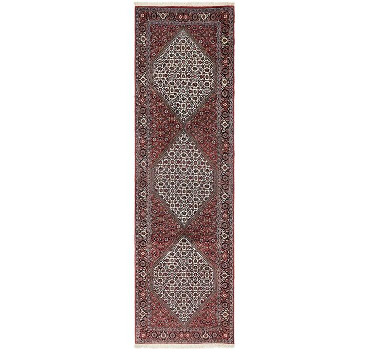 85cm x 300cm Bidjar Persian Runner Rug