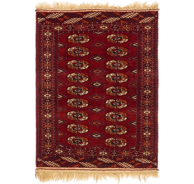 80cm x 122cm Torkaman Oriental Rug