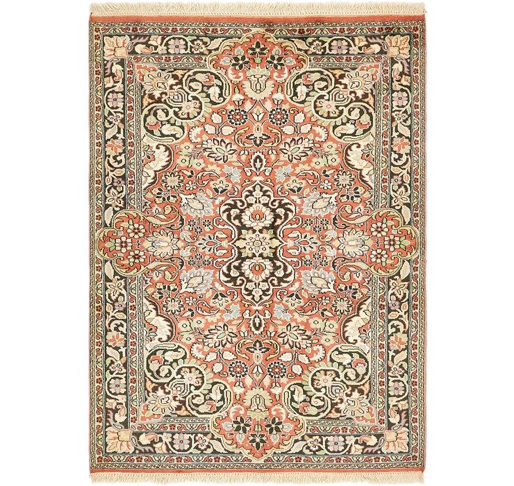 4' 4 x 6' Kashmir Oriental Rug