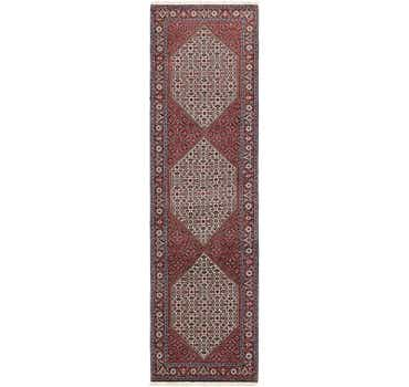 Image of 2' 9 x 10' 5 Bidjar Persian Runner Rug