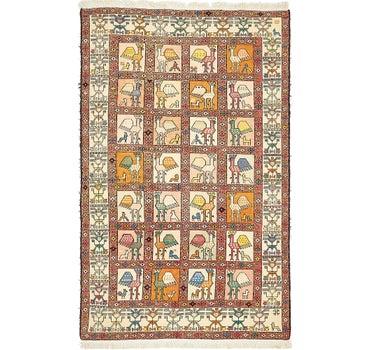 3' 10 x 6' Tapestry Rug main image