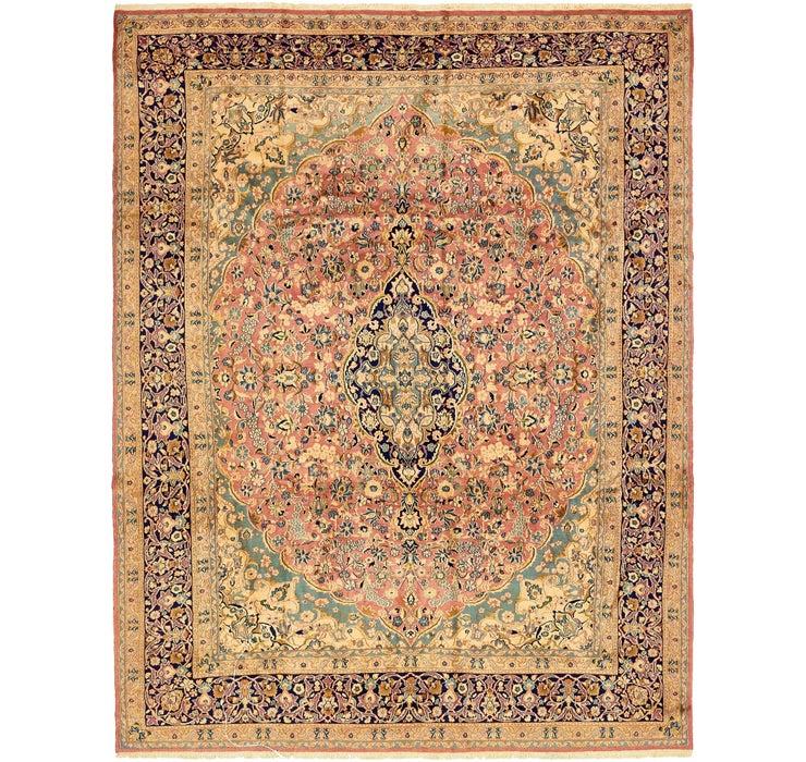 9' 7 x 12' 5 Kerman Persian Rug