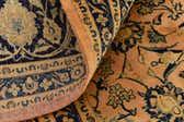 9' 10 x 12' 6 Kashan Persian Rug thumbnail