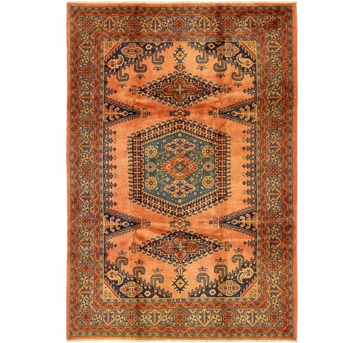 Image of 245cm x 360cm Viss Persian Rug