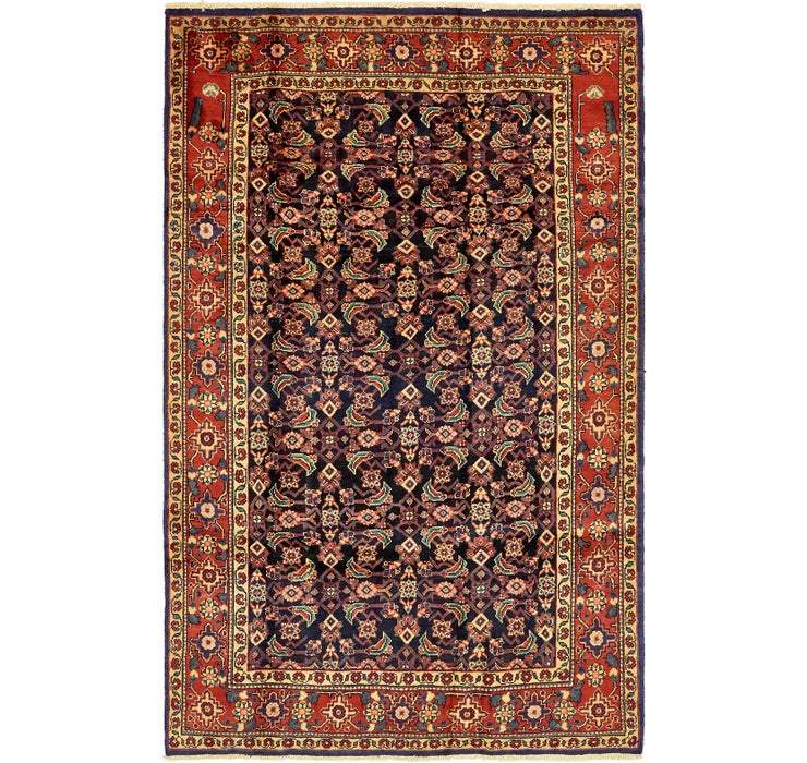 198cm x 305cm Mahal Persian Rug