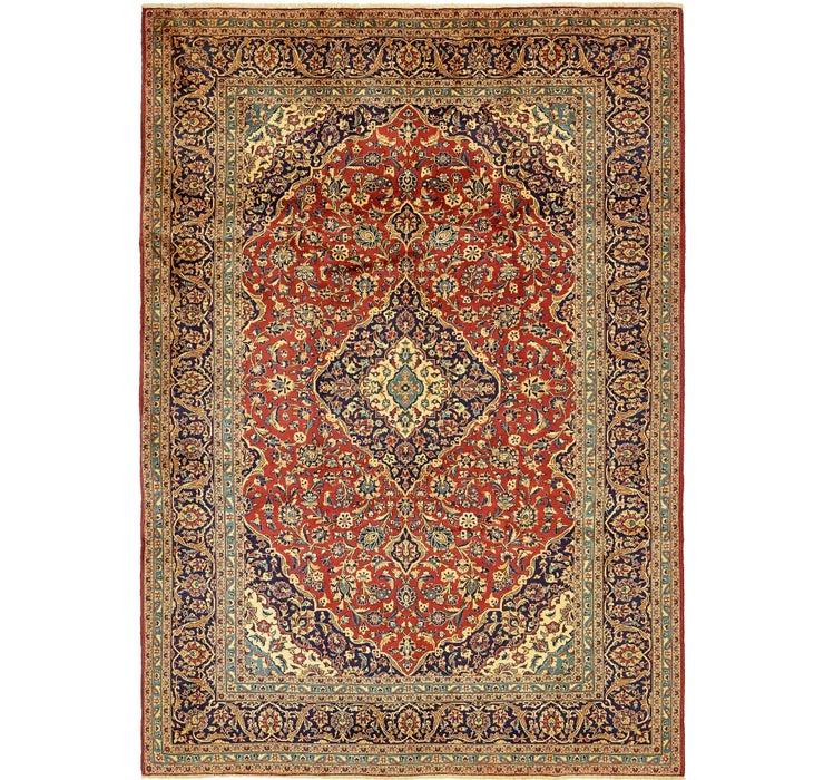 8' 3 x 11' 7 Kashan Persian Rug