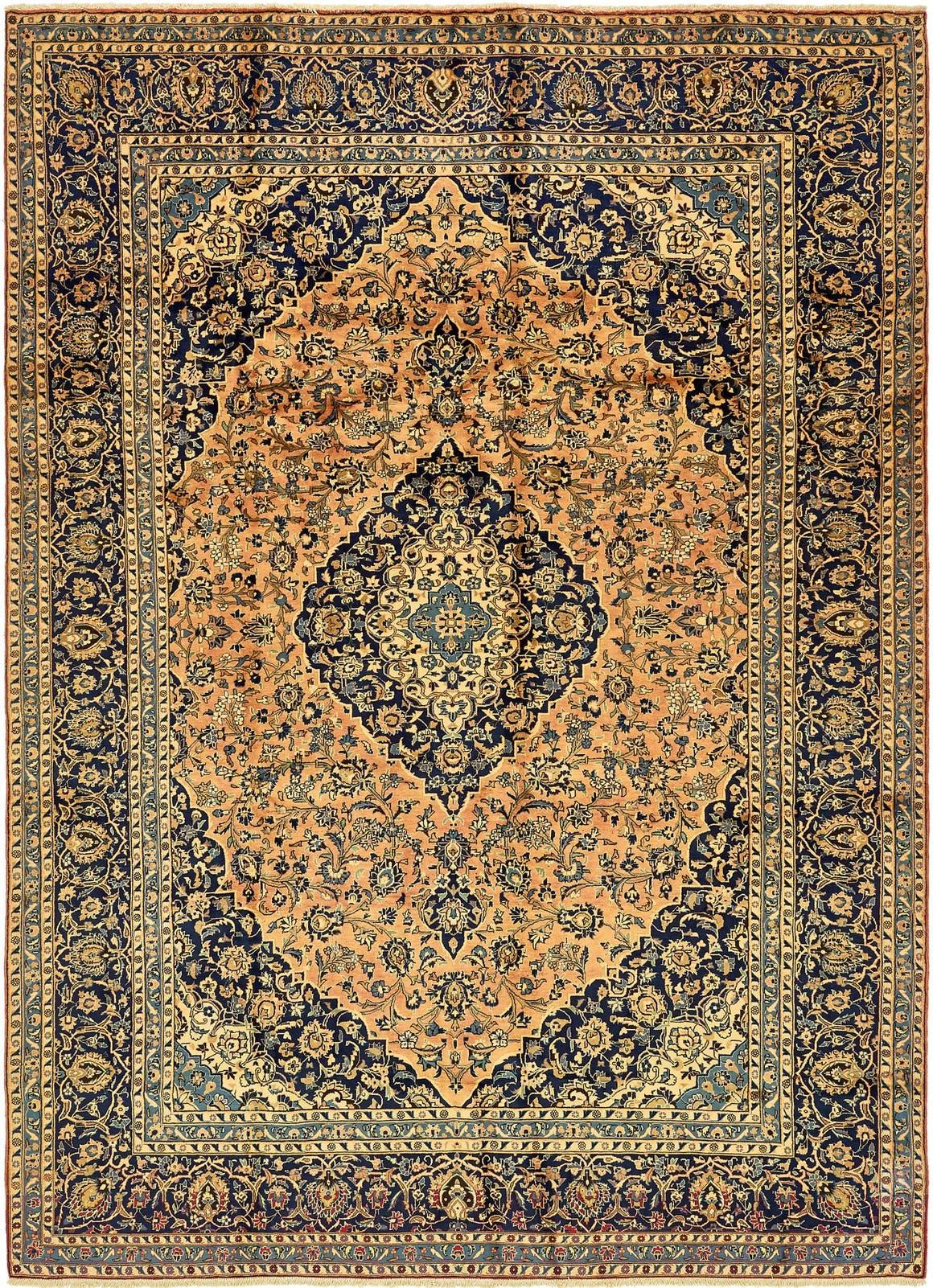 10' x 13' 7 Kashan Persian Rug main image