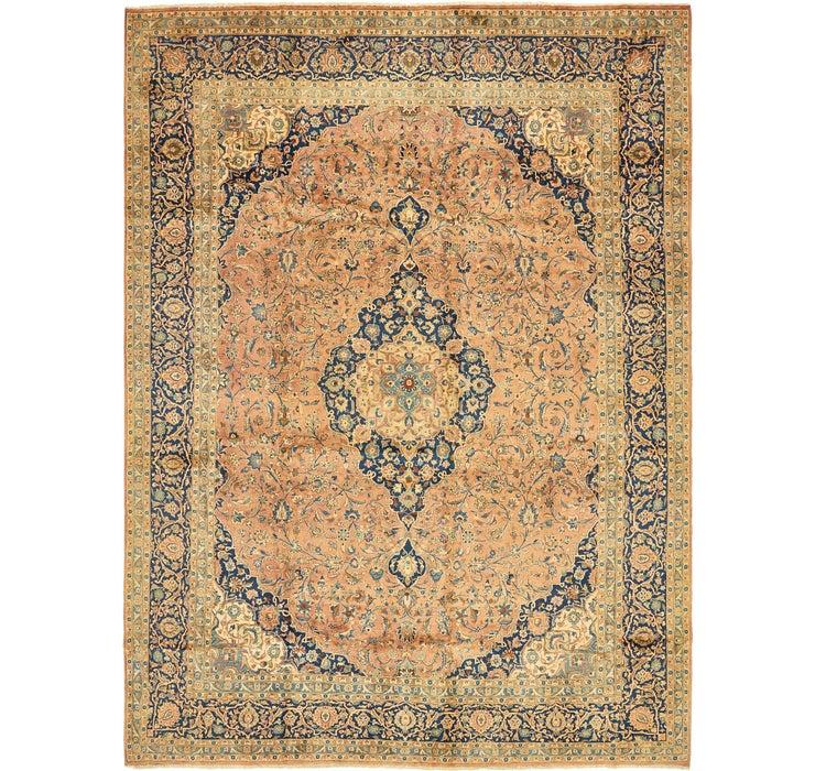 9' 10 x 13' Kashan Persian Rug