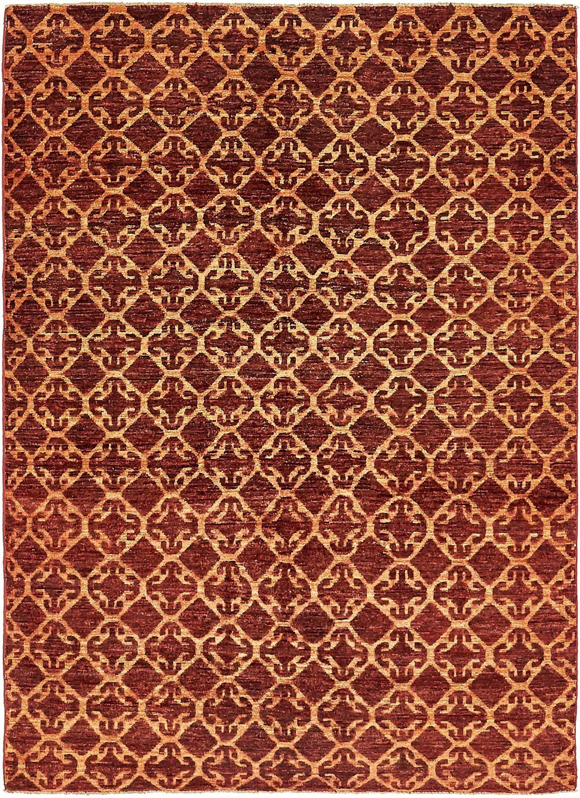 142cm x 193cm Ikat Oriental Rug main image