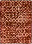 142cm x 193cm Ikat Oriental Rug thumbnail