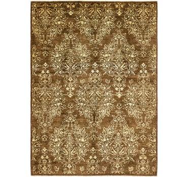 5' 9 x 8' Peshawar Ziegler Oriental Rug main image