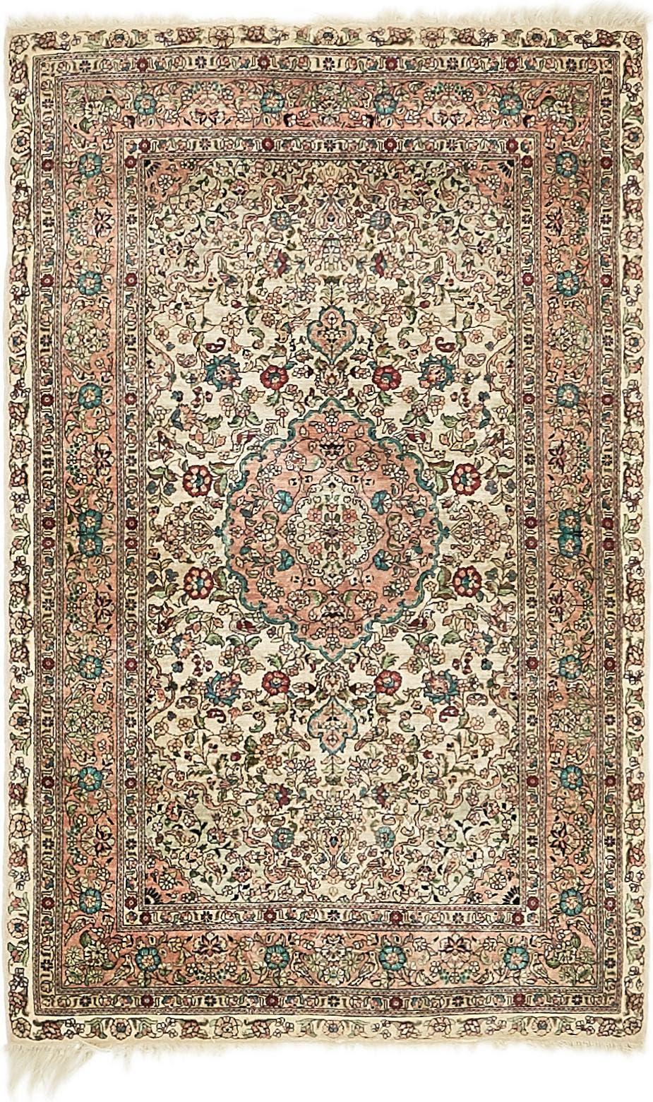 2' 7 x 4' Hereke Oriental Rug main image