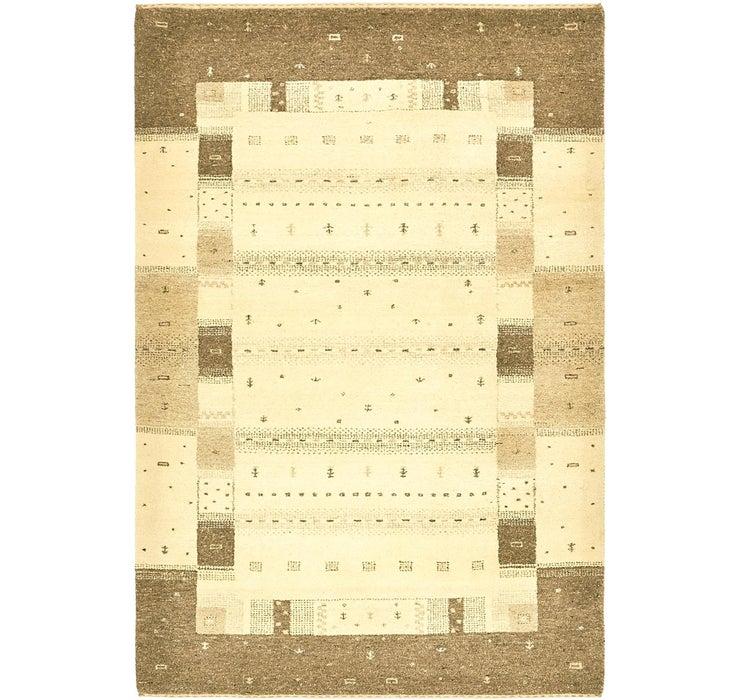 Image of 4' x 6' Kashkuli Gabbeh Rug