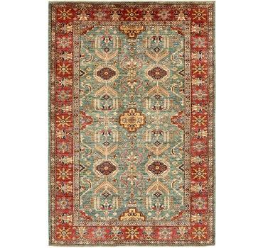 6' 8 x 10' Kazak Rug main image