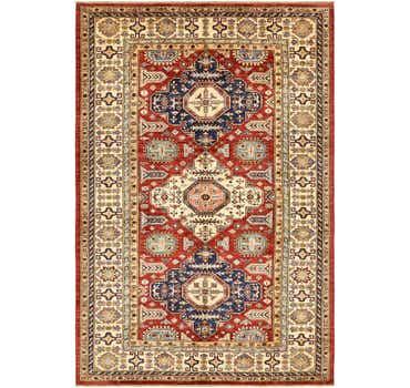 Image of 6' x 8' 10 Kazak Rug