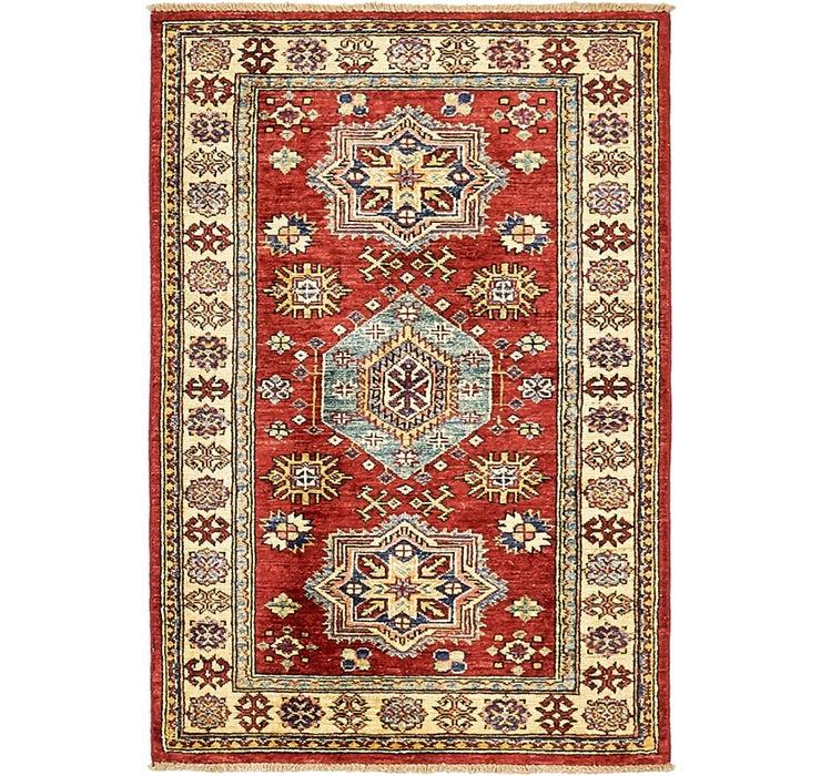2' 8 x 4' Kazak Oriental Rug