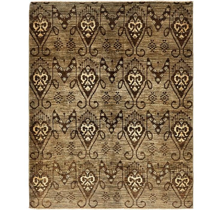 5' x 6' 5 Ikat Oriental Rug