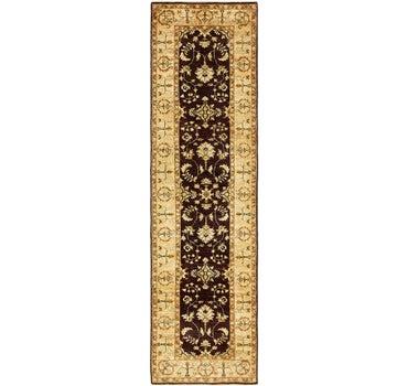 2' 7 x 9' 9 Peshawar Ziegler Oriental Runner Rug main image