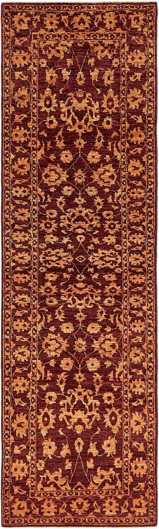 2' 6 x 9' 4 Peshawar Ziegler Oriental Runner Rug main image