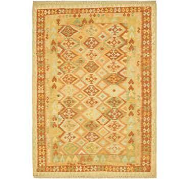 Image of 6' 6 x 9' 2 Kilim Waziri Rug