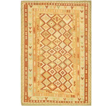 Image of 6' 6 x 9' 7 Kilim Waziri Rug