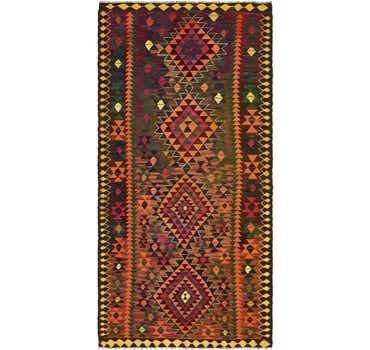 Image of 4' 10 x 9' 8 Kilim Fars Runner Rug