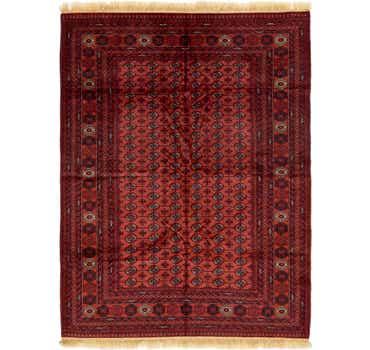 Image of 6' 9 x 9' 4 Torkaman Oriental Rug