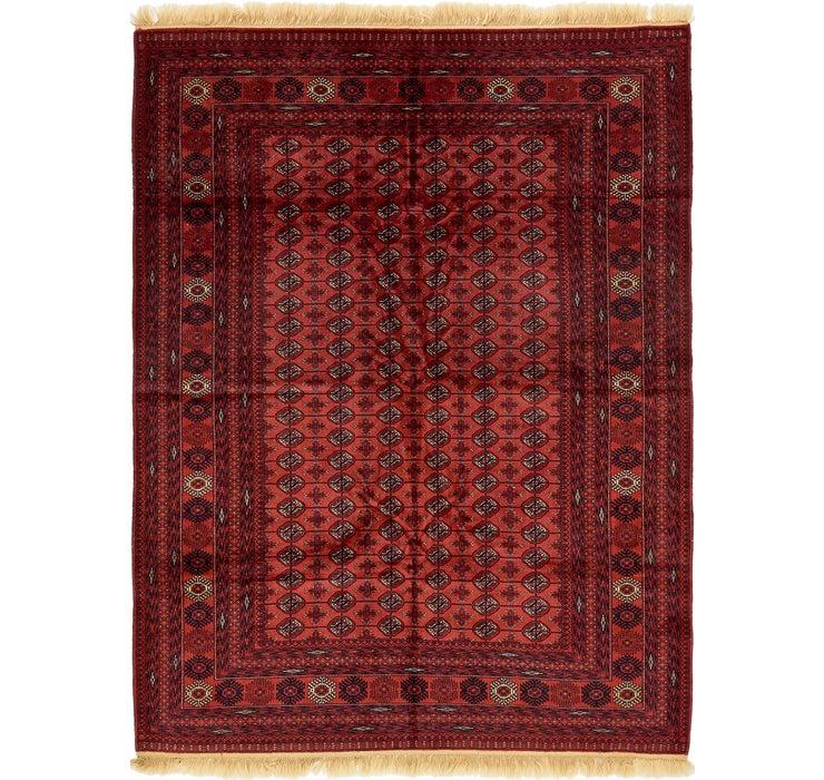 6' 9 x 9' 4 Torkaman Oriental Rug