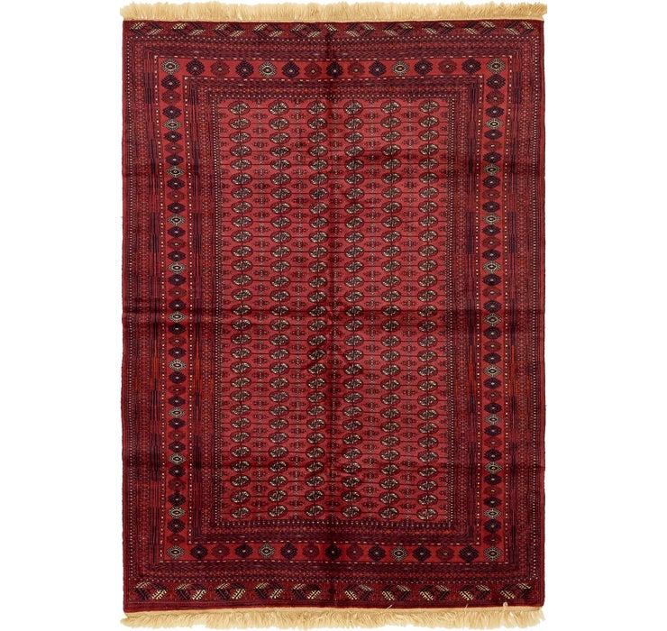6' 6 x 9' 5 Torkaman Oriental Rug