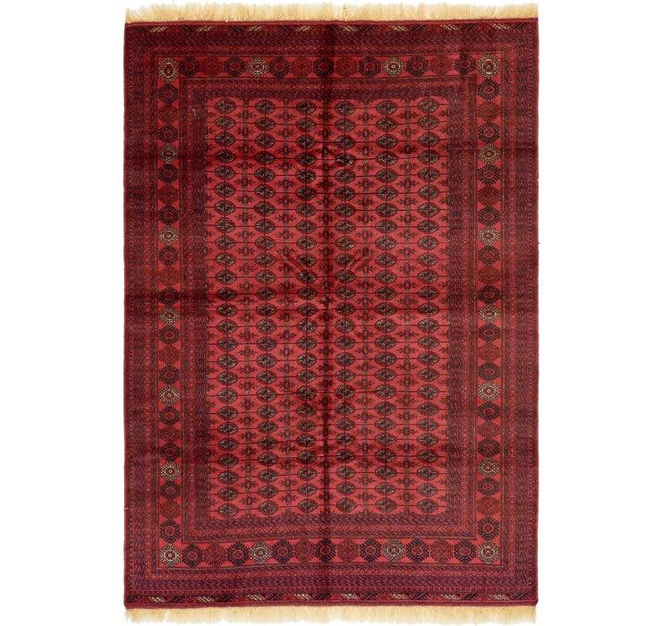 6' 7 x 9' 10 Torkaman Oriental Rug