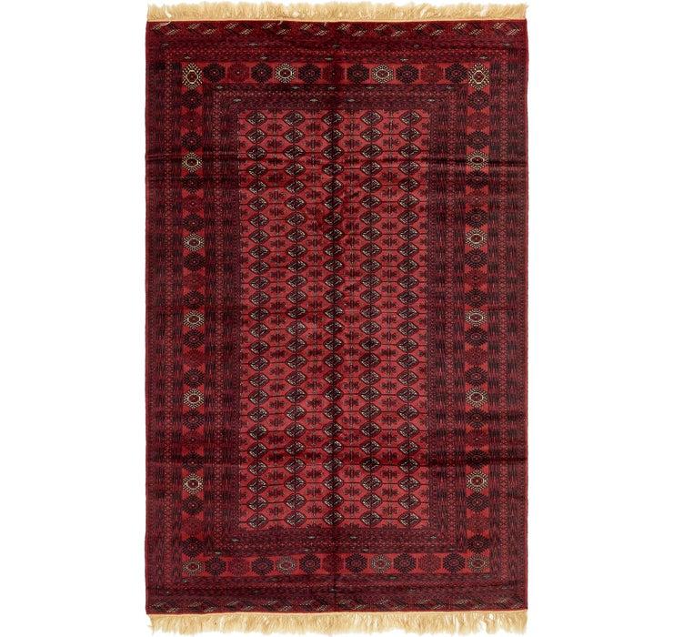 6' 6 x 10' 3 Torkaman Oriental Rug