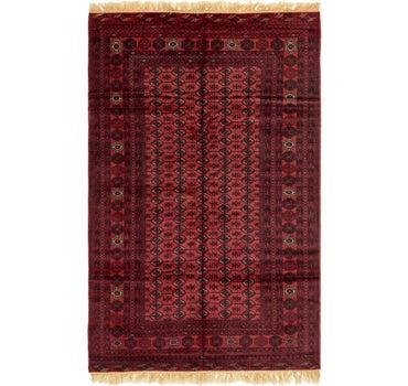 6' 6 x 10' 3 Torkaman Oriental Rug main image
