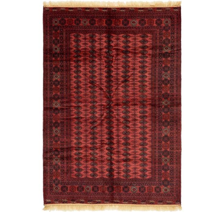 200cm x 295cm Torkaman Oriental Rug