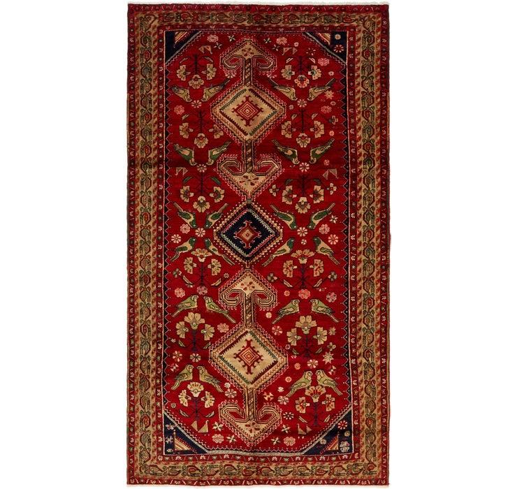 168cm x 320cm Shiraz Persian Rug